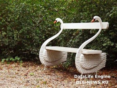 Элементарная садовая скамейка