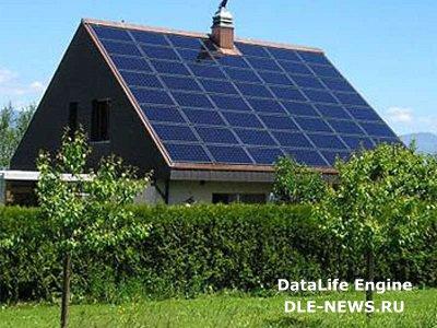 Энергообеспечение частных домов с использованием солнечных панелей
