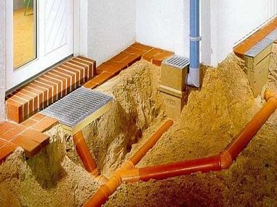 Этапы монтажа ливневой канализации