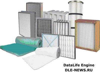 Фильтрующие материалы для систем вентиляции