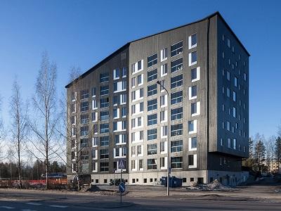 Финляндия начала строить 8-ми этажные деревянные дома