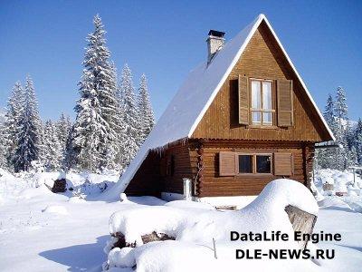 Как прогреть дачный дом зимой