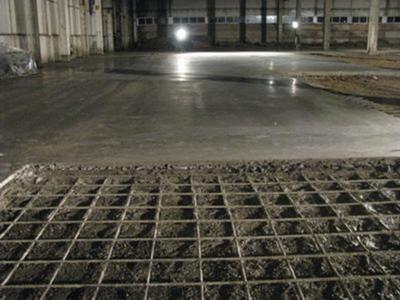 Как провести армирования бетонной стяжки