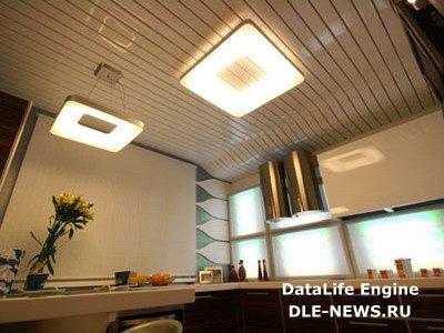 Какие потолки лучше подойдут для кухни?