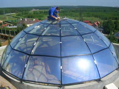 Надёжная технология изготовления сложного гнутого стекла