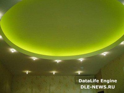 Неоновые трубки как элегантное освещение жилых помещений