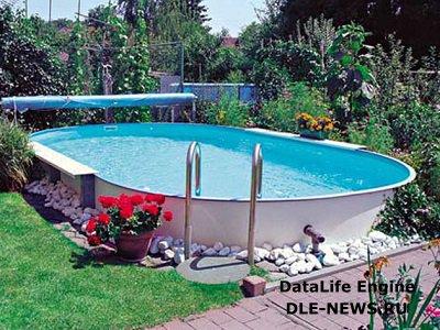 Оформление дачного бассейна