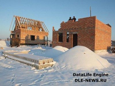 Особенности строительства кирпичного дома в зимний период