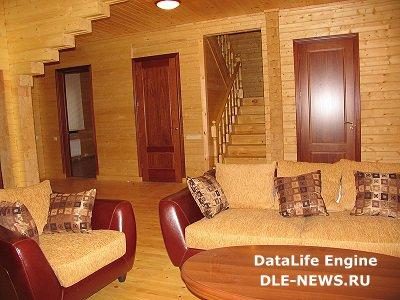 Покраска и отделка дачного дома из дерева