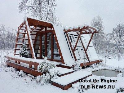 Положительные моменты при строительстве загородного дома зимой