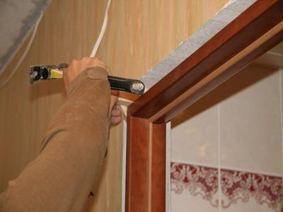 Пошаговая инструкция по демонтажу межкомнатной дверной коробки