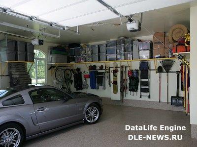 Принципы благоустройства функционального гаража