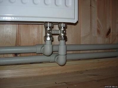 Разновидности подключения радиаторов к общей системе отопления