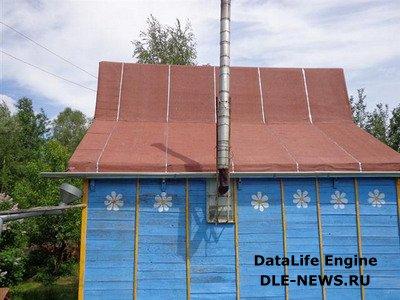 Реставрация крыши дачного дома
