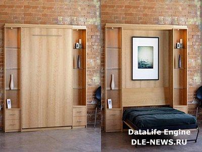 Шкафы-кровати: эргономичные и стильные интерьерные трансформации