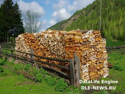 Складываем правильно дрова