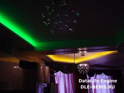 Светодиодное освещение в дизайне интерьеров