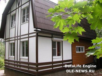 Выбор материала для отделки дачного дома