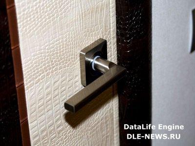 Виды искусственной кожи для отделки дверей