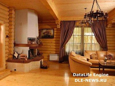 Высококачественная отделка деревянного дома внутри – правильный выбор современного хозяина.