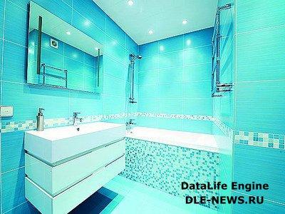 Визуальное расширение пространства в ванной