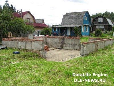 Восстановление «покосившегося» деревянного дома.