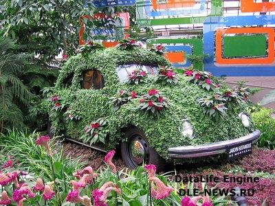 Жизнь в ботаническом саду: растительные мотивы в интерьере