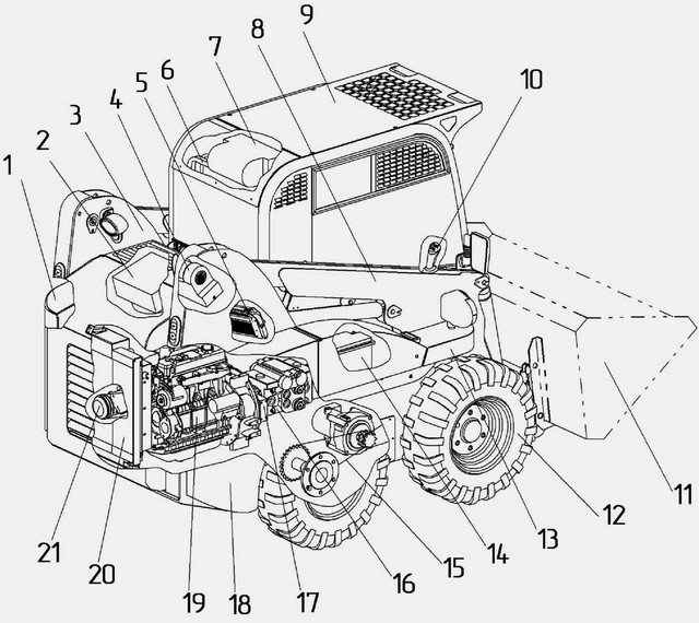 мксм 800: технические характеристики погрузчика