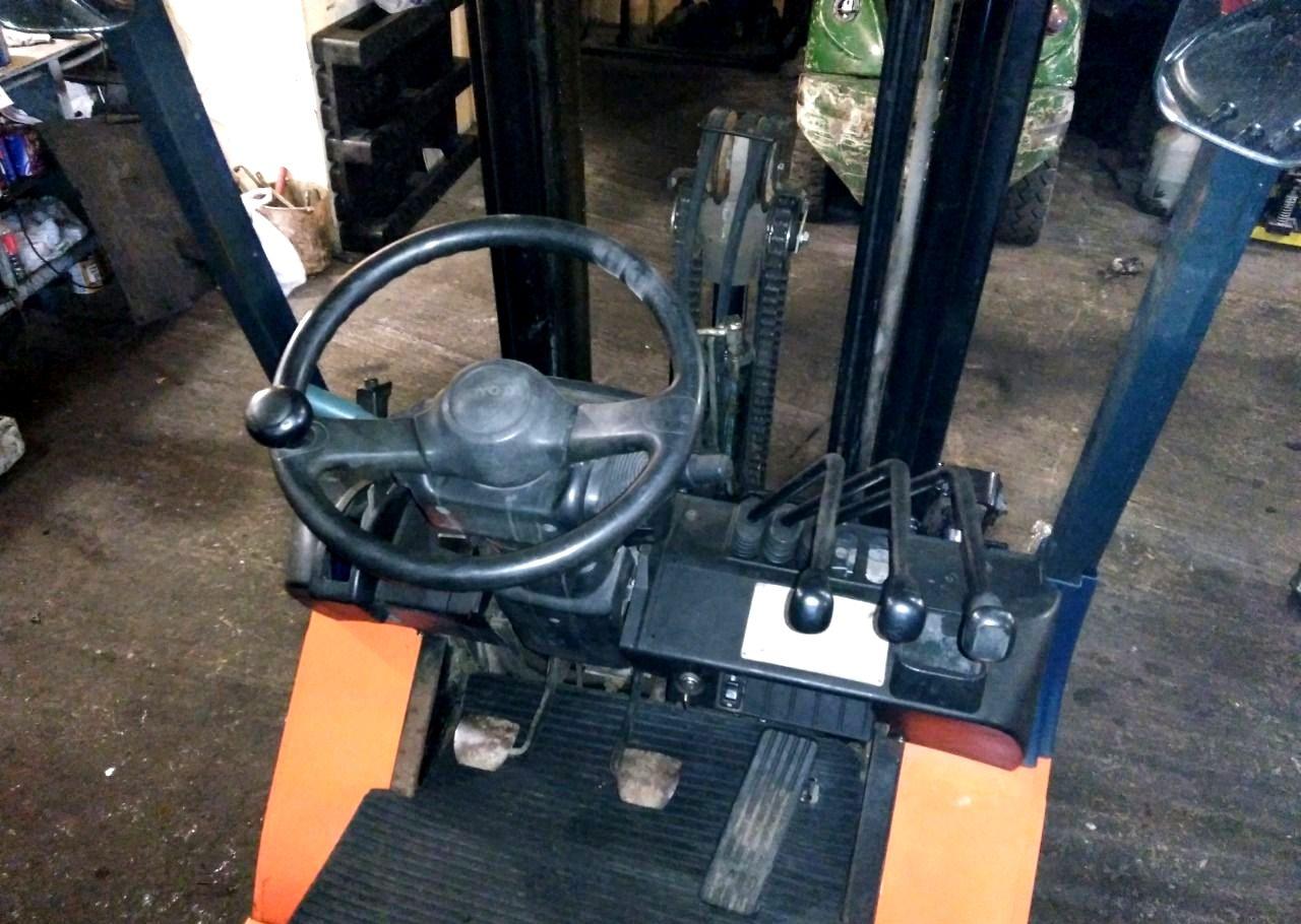 Элементы управления погрузчика Toyota 7FG15
