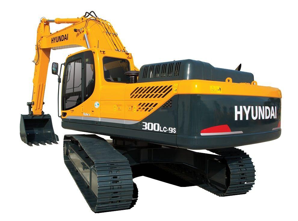 Внешний вид экскаватора Hyundai R300LC-9S