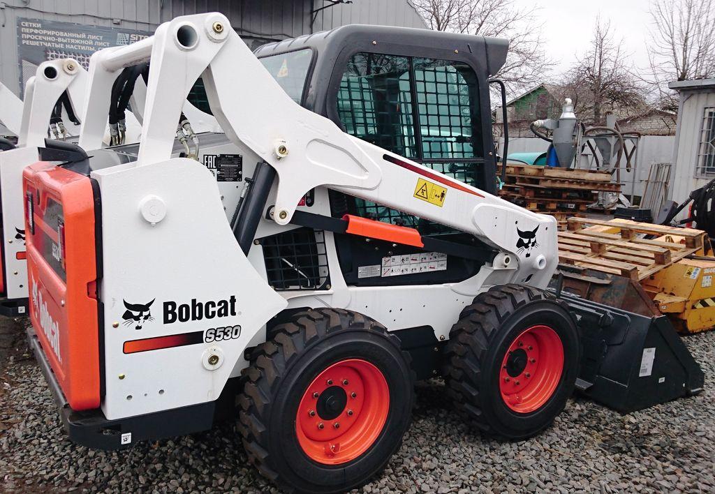 Внешний вид погрузчика Bobcat S530