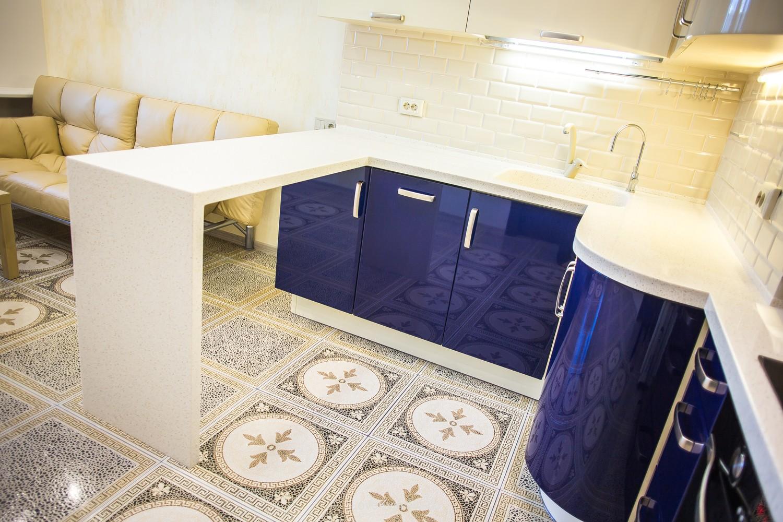 плитка на кухню на пол фото