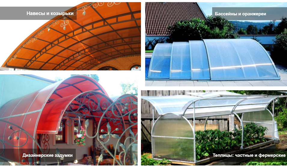 Сотовый поликарбонат – долговечный материал