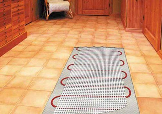 Укладка теплого пола в ванной