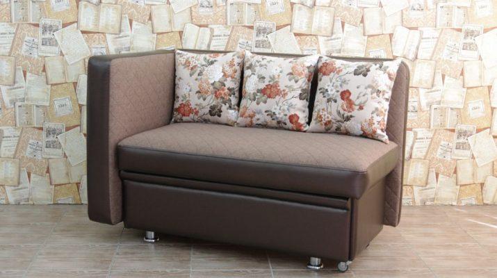 Компактный диван для кухни