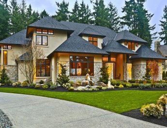 Кантри-стиль или Хай-тек для фасада дома
