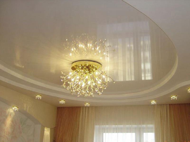подвесные потолки в зале одна основных